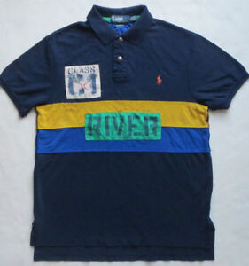 MINT Vintage Polo Ralph Lauren Rafting C3 Rugby