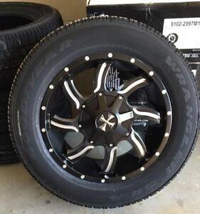 20x9 Cali Off-road package w/ Goodyear All-season Highway tire