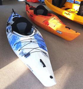 New Winner Driftwood Kayak w/Rudder & Paddles
