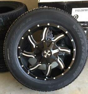 20x9 Cali-off-road wheels with Goodyears tires package