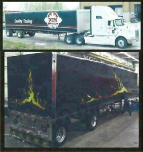 Trailer Wraps, Lettering, Vinyl Graphics, Signs, Decals Windsor Region Ontario image 7