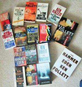 KEN FOLLETT ... Novel Selection