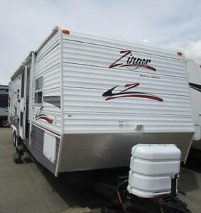 2007 ZINGER 30 BH SUPER SLIDE BUNK HOUSE