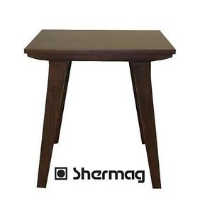 NEW SHERMAG PIERCE END TABLE END TABLE ACCENT TABLE WALNUT 104081308