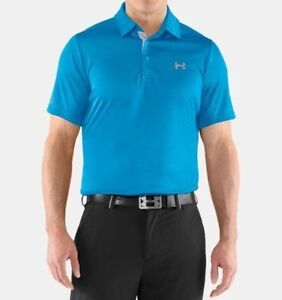 USED mens Under Armour Coldblack polo