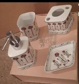 The Leonardo Collection - Bathroom Set - Brand New