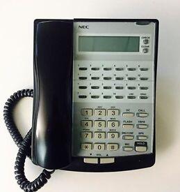 8 x NEC Topax XN120 Office Desk Phones