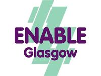 Support Work Team Vacancies at ENABLE Glasgow's Supported Living Projects in West End of Glasgow
