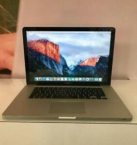 Macbook Pro 15.4 RetinaW/ Warranty. Intel Core i7 8GB Ram 512 SS