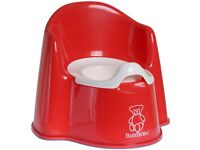 Baby Bjorn Potty High seat in red £5