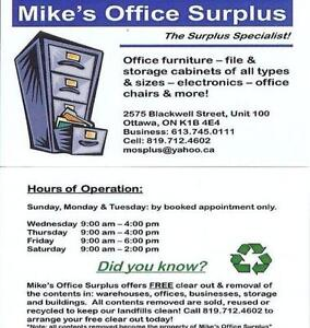 File Cabniet / Office Supply Drawers, Pedestal.