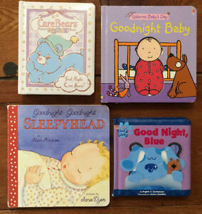 BEDTIME Board Books $3 each or all 4 for $10