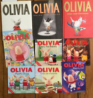 OLIVIA Pig Picture Books $3 each or all 9 for $20