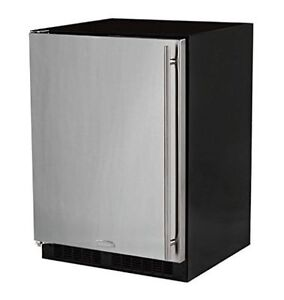 """Neuf Refrigerateur 24"""" Marvel en stainless steel Valeur 2300$"""