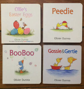 GOSSIE AND FRIENDS Board Books $3 each or all 4 for $10