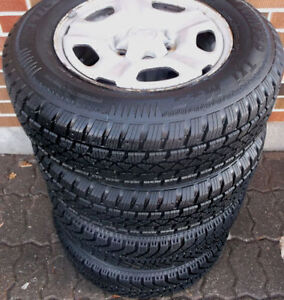 "15"" TOYOTA SNOW TIRE PACKAGE - SIENNA - 2WD TACOMA"