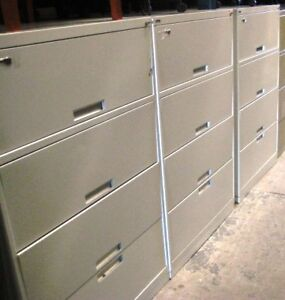 CLASSEURS LATERAUX USAGES / USED LATERAL FILE CABINETS