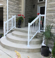 Brampton RAILINGS columns fences gates FACTORY DIRECT $$$SAVINGS