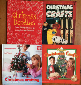 CHRISTMAS CRAFT BOOKS $3 each or all 4 for $10