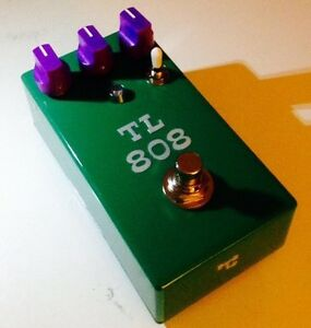 TL-808 custom modified Tubescreamer by TL Pedals