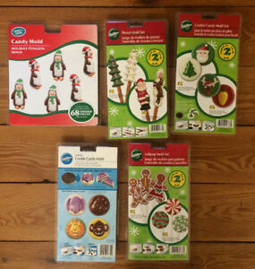 8 WILTON CANDY MOLDS - brand new! $10