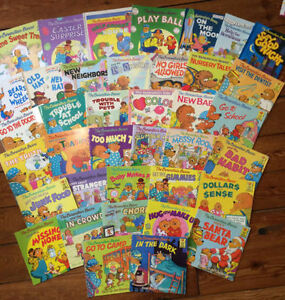 HUGE collection of BERENSTAIN BEARS BOOKS 38 books - $80