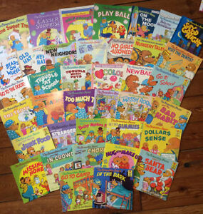 HUGE collection of BERENSTAIN BEARS BOOKS 40 books - $100