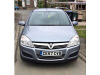 2007 vauxhall astra. low 76k genuine miles. full leather interior. px welcome