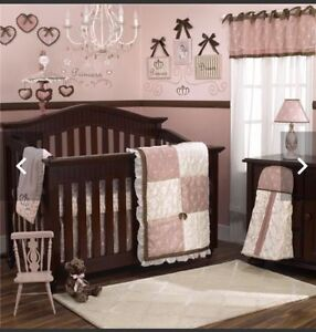 12 piece baby girl crib bedding