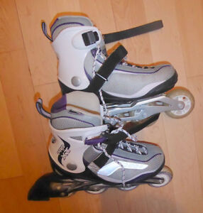 Rollerblades, used once, women's 7.5
