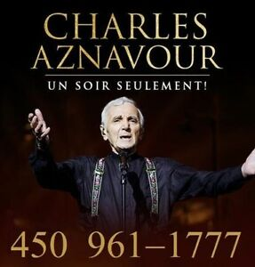 CHARLES AZNAVOUR : SECTIONS ROUGES ET CLUB !!!
