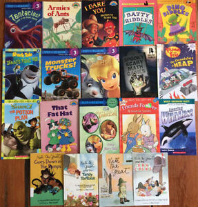 Scholastic Readers - LEVEL 3 - grade 1-3 - $2 each or all 19/$20