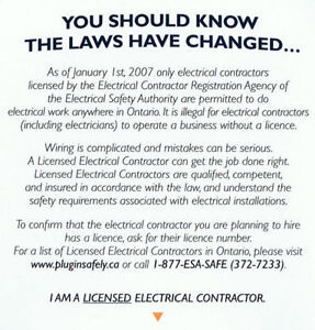 Aluminum Wiring Expert fully licensed and insured since 1984 Kingston Kingston Area image 7