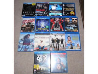 14 x BLURAY FILMS, age 15,inc. Momentum,Predestination, Out Of The Furnace(blu ray/blueray/blue ray)