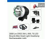 Cree bike light
