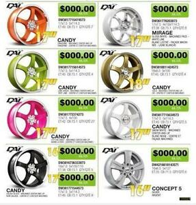Large Selection of Aftermarket Car SUV Trucks Wheels Rims