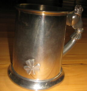 Irish Pewter Tankard