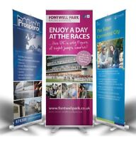 Roll up Retractable Banner Printing and Stand - ONLY $99