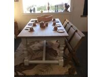 8 /10 Seater . Refectory Oak Table