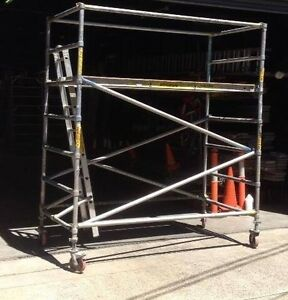 Mobile aluminium scaffolding hire Riverwood Canterbury Area Preview