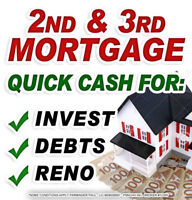1ST, 2ND, & 3RD MORTGAGES ☎ CALL NOW FOR IMMEDIATE RESULTS