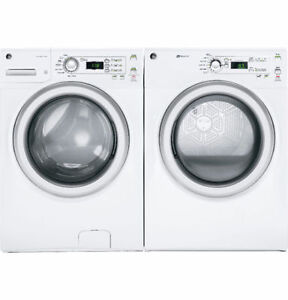 GE FRONT LOAD STACKABLE WASHER/DRYER SETS!!--OPEN VICTORIA DAY!