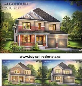 Brand New Detached Homes & Freehold Town Homes in BINBROOK