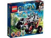 Lego Chima Wakz' Pak Tracker, 70004, BNIB