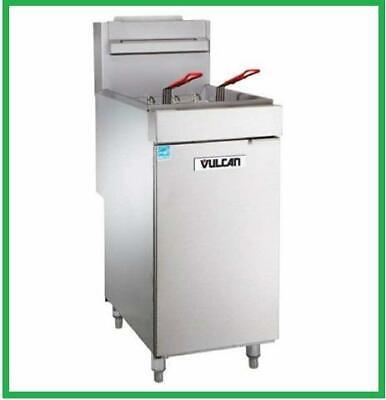 Vulcan 1veg35m-1 70000 Btu Natural Gas Fryer 40 Lb Veg Series New In Box
