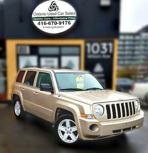2010 Jeep Patriot Sport,North, 4x4, alloy, heated seats,sunroof,