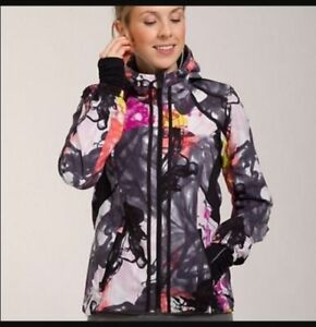 Lulu  Lululemon Downtime Jacket in Unicorn Tears print. Size 4.