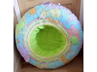 Inflatable baby play nest.