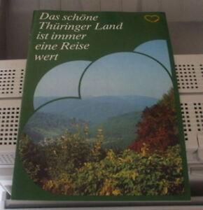 Das schöne Thüringer land ist immer eine Reise wert