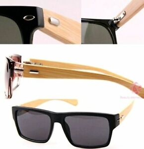 NEW-bamboo sunglasses men women outdoor vintage sunglasses